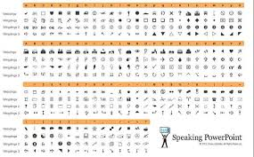 Font Discovery Wingdings Webdings Character Map Windows