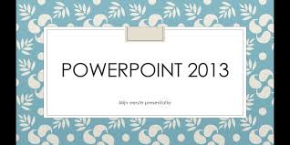 Microsoft Powerpoint 2013 Descargar