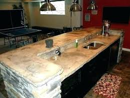 white concrete countertop mix recipe