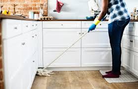 how often should you mop wood floors