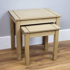 Pine Bedroom Stool Corona Panama Mexican Solid Pine Wood Furniture Dining Amp