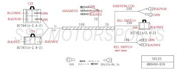 wire diagram sr125 6 wire cdi diagram