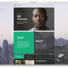 Professional Resume Website Template Rachel WordPress Resume Theme 24 Professional Online Resume Cv 3