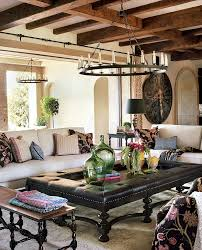 architecture brilliant spanish home decor idea with exposed wood