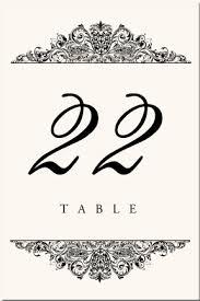 Template For Table Numbers Tirevi Fontanacountryinn Com