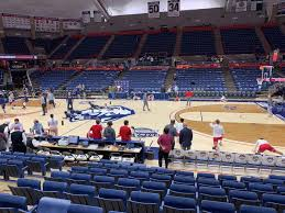 Harry A Gampel Pavilion Section 120 Row I Seat 10 Uconn