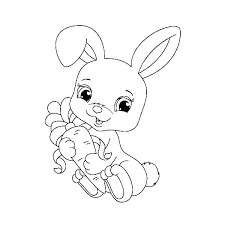 Easter Bunny Face Coloring Pages Page Hard Auchmar
