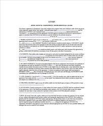 Printable Rental Agreement Template 12 Printable Lease Agreement Templates Free Sample