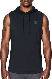 under armour pullover. under armour men\u0027s sportstyle sleeveless hoodie pullover t