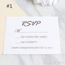 Rsvp Card Sizes Invitation Rsvp Card Wedding Respond Card Reception Card Shimmer Surface Free Printing Customized Design Free Ship Wedding Invitation Poems Wedding