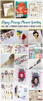 Disney Princess Planners: Belle, Ariel, \u0026 Pocahontis | My So ...
