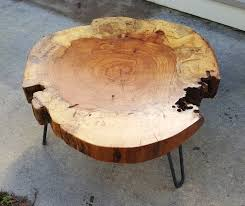 Pecan Round Coffee Table by LuttrellDesigns on Etsy | furniture | Pinterest  | Coffee, Woods and Tables