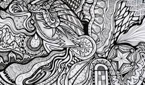 Small Picture Get This Difficult Trippy Coloring Pages for Grown Ups X7D5N