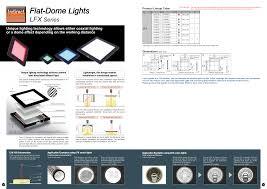 Flat Dome Lights Manualzz Com