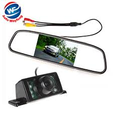 reverse light wiring promotion shop for promotional reverse light 480 x 272 4 3 inch tft lcd display car rear view mirror monitor 7 ir lights night vision rearview reversing backup camera