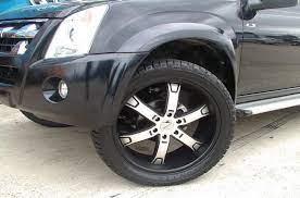 Isuzu D Max With Kmc Km671 Wheels Wheel Car Wheels Truck Wheels