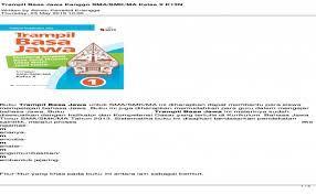 The best image file best wallpaper ideas website. Buku Sastra Jawa Sma Smk Ma Kls Xi Pdf Cute766