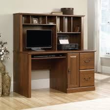 sauder harbor view computer desk with hutch antiqued paint assembly instructions white corner in