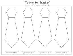 Small Picture General Conference Tie it to the Speaker coloring page This is