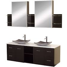 dual vanity bathroom: avara  inch double sink bathroom vanity set