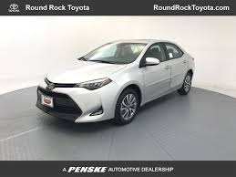 2018 New Toyota Corolla XLE CVT at Round Rock Toyota Serving ...