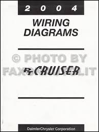 chrysler pt cruiser wiring diagram manual original