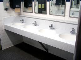 commercial bathroom corian sink countertop