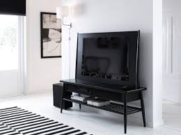 Living Room Cabinets Ikea Tjusig Hanger White Tv Storage White Side Tables And Ikea Ps
