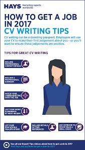 infographic cv writing tips hays cv writing nz png