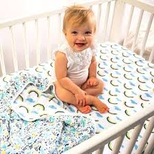 rainbow crib sheet pastel rainbow crib sheet