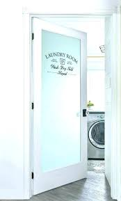 frosted glass pantry door ideas half laundry room adding home depot doo