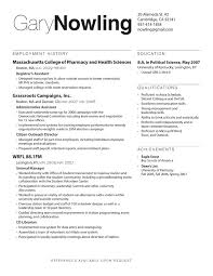 Resume Layout Samples - Templates