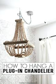 plug in crystal chandelier how to hang a plug in chandelier chandeliers spaces and lights in plug in crystal chandelier