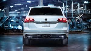 2018 volkswagen r line. plain volkswagen 2018 volkswagen atlas rline revealed throughout volkswagen r line autoevolution
