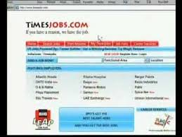 Working for Peanuts - Log on to timesjobs.com