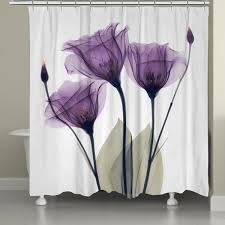 laural home x ray lavender fl 71 x 72 inch shower curtain