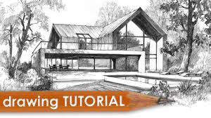 Modern home architecture sketches Flat Roof House 736x974 Contemporary House Architectural Drawing 1280x720 Drawing Tutorial Getdrawingscom Modern Architecture Drawing At Getdrawingscom Free For Personal