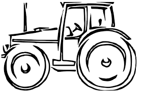 Small Picture Tractor and Farmer Coloring Pages Gianfredanet
