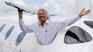 Richard Branson ist dabei, das Rennen um den Weltraumtourismus zu gewinnen