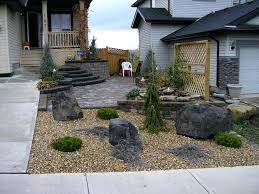 simple landscaping ideas. Front Yard Landscape Ideas With Rocks For In Simple Design Decor Trends Landscaping