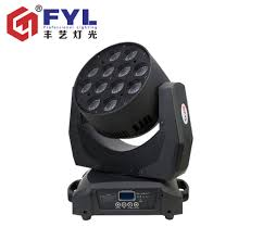Used Moving Head Stage Lights A12015mz R Fyl 12x15w 4in1 Rgbw Wash Light Led Moving Head Beam Used Fpr Bars Ktv Banquet Hall T Stage Etc Buy Moving Head Beam 4 In 1 Rgbw Led