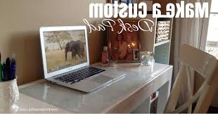 make a custom desk pad any size any design overthrow martha with regard to amazing residence desk mat clear prepare