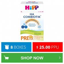 Hipp Vs Holle Formula Chart Hipp Hypoallergenic Wholesale Organic Formula Organic