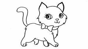 170+ tranh tô màu con mèo dễ thương đáng yêu cho bé