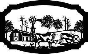 Image result for black and white farm scene