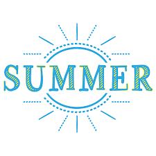 Summerのタイトル文字 無料イラスト愛