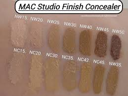 Mac Studio Finish Concealer Review Swatches Of Shades In