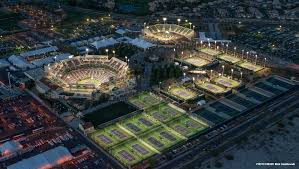 Indian Wells Tennis Center Seating Chart Beautiful Night Picture Of The Bnpparibasopen In Indian
