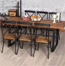wrought iron and wood furniture. Dining Table Wrought Iron And Wood Room Tables Furniture