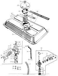 Honda e1500k1 a generator jpn vin e1500 1171001 to e1500 1191630 diagram fuel tank